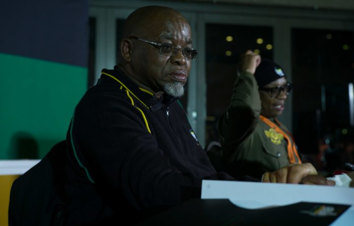 Mantashe said the ANC condemned the use of violence to achieve a winning result at conferences and expressed sympathy with those who were injured when delegates started throwing chairs at one another.
