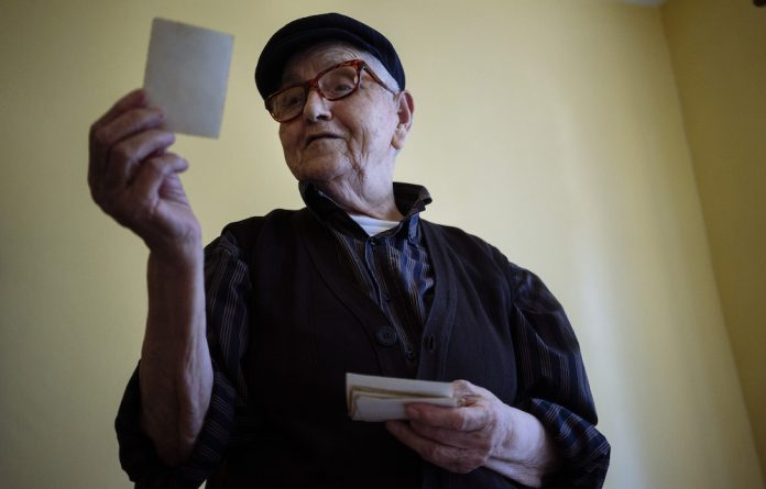 Still wearing the pants: Shkurta Hasanpapaj decided she would rather live as a man than agree to an arranged marriage.
