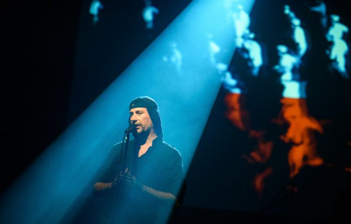 Laibach perform live in Trbovlje