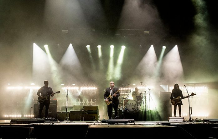 US rock band The Pixies are on a world tour in support of their album