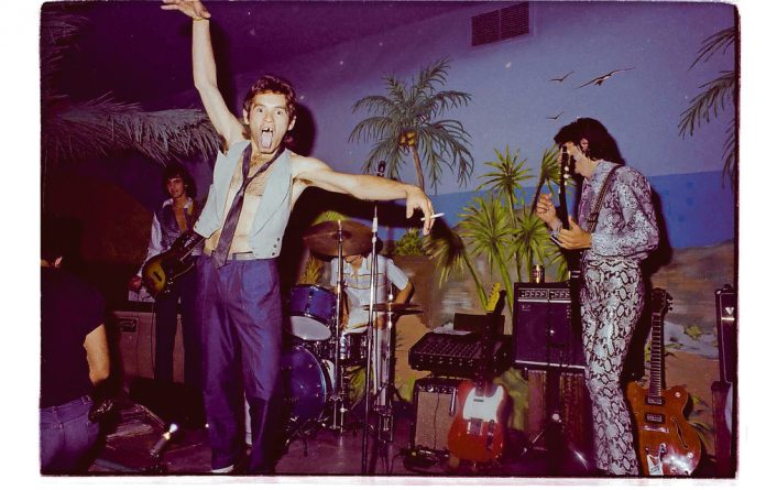 Guillaume Rossouw and the Safari Suits had a residency at Cape Town's Club Tropicana in the 1980s.