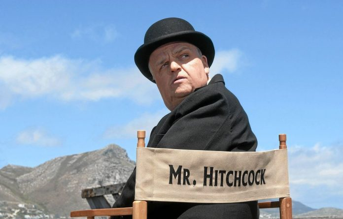 Toby Jones as Alfred Hitchcock in 'The Girl'.