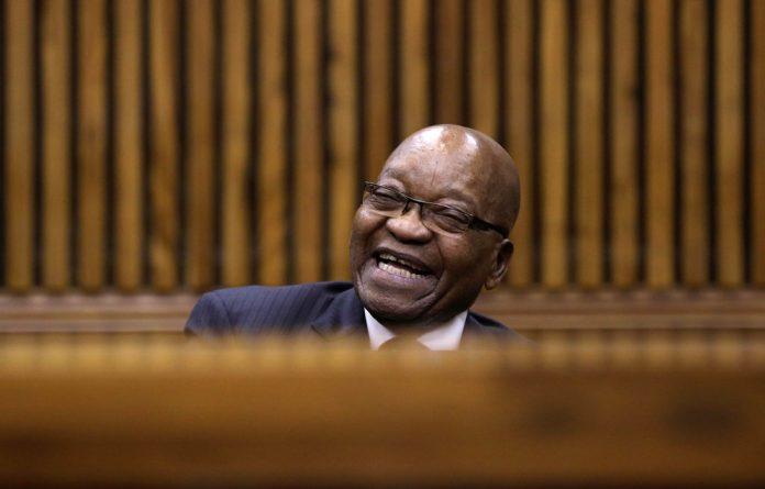 Jacob Zuma attended Shenge's birthday party