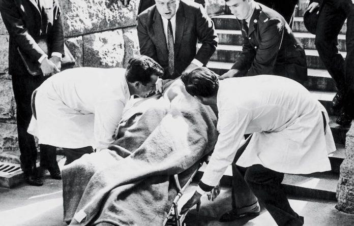 September 1966. The body of Dr H.F. Verwoerd