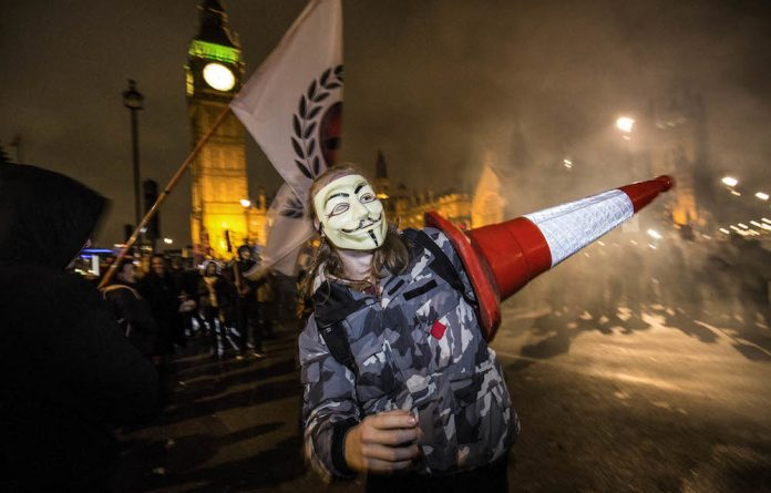 Fireworks: The Million Masks March