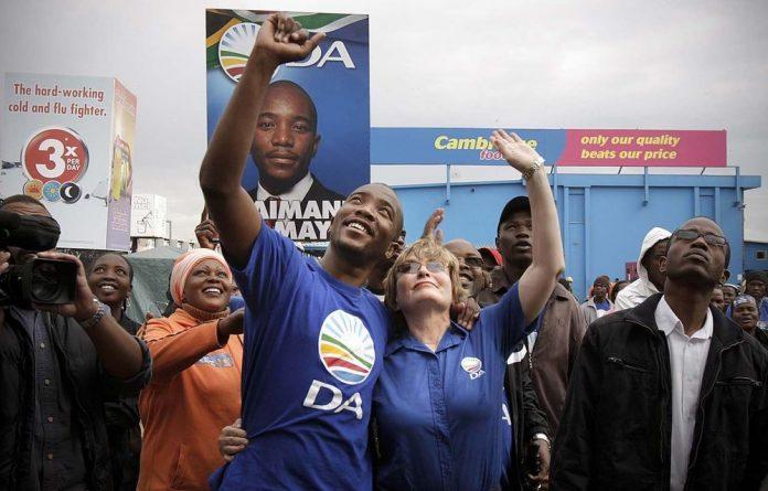 Mmusi Maimane has the support of DA leaders