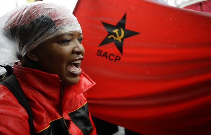 The SACP is not in a position to mobilise substantial support in the near future. The left is contested terrain and prone to fragmentation.