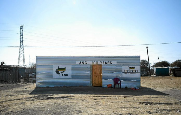 The ANC offices in Nkanini in Marikana.