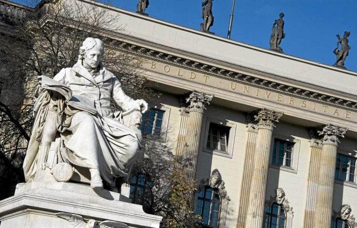 Prussian model: Politician and philosopher Wilhelm von Humboldt developed a German-supporting university ideal after Napoleon's defeat.