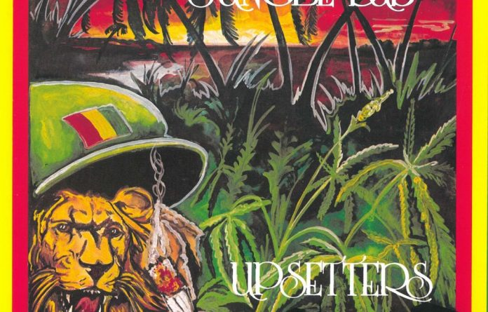 Don't criticise it: Reggae covers feature a jumble of symbolism but the 'holy herb' is the most popular.
