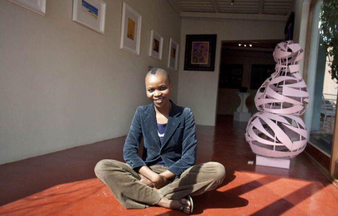 Hlengiwe Vilikati in her Jo Anke gallery in Orange Grove.