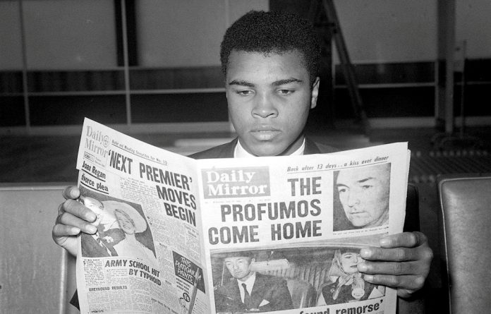 Former boxer Muhammad Ali is renowned for his sharp wit
