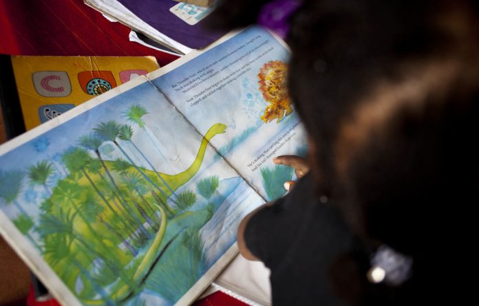 Wonderful world: Children who read at home for pleasure do better at school.