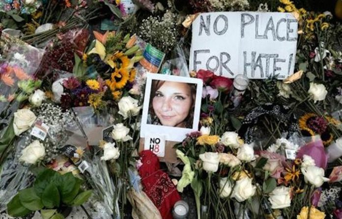 Not in our name: The Charlottesville violence has highlighted the need for white people to act decisively.