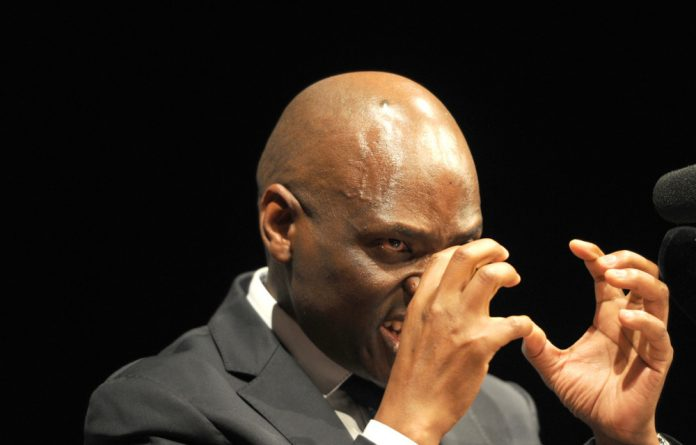 Suspended SABC employee Hlaudi Motsoeneng rambled on in the third person for hours at his press conference on Wednesday.