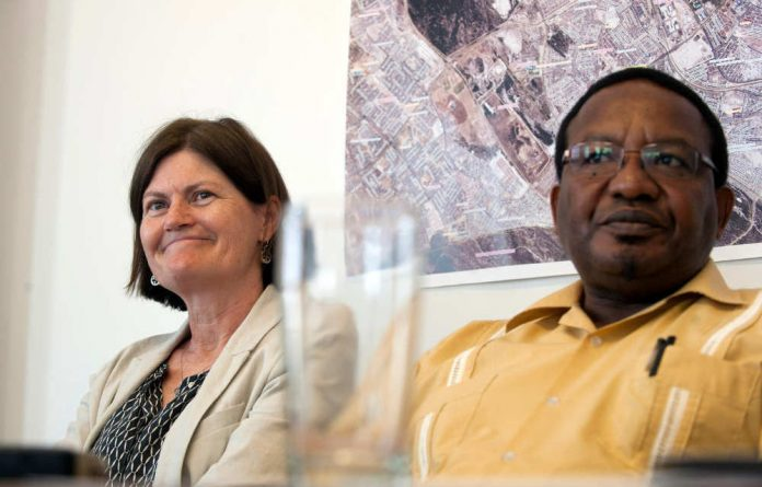 Kate O'Regan and Vusi Pikoli chair the commission of inquiry into policing in Khayelitsha.
