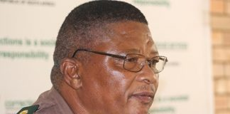 National Commissioner of the Department of Correctional Services Zach Modise.