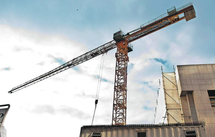 There has been an increase in construction and development in South Africa.