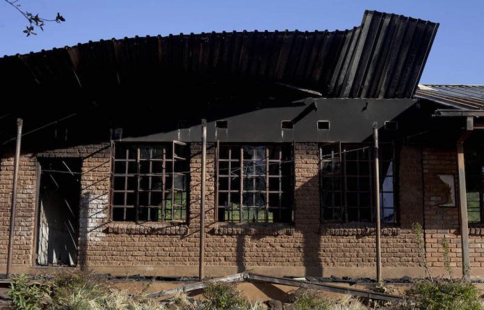 The commission held hearings in June on how protests affect schooling. That was on the back of the Vuwani protests and the 29 schools that were set alight during a dispute over demarcation.
