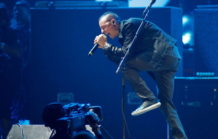 Linkin Park has conveyed its condolences to the family of the woman who died when a structure collapsed at its concert venue in Cape Town.