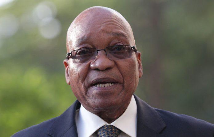 President Jacob Zuma arrived in Addis Ababa