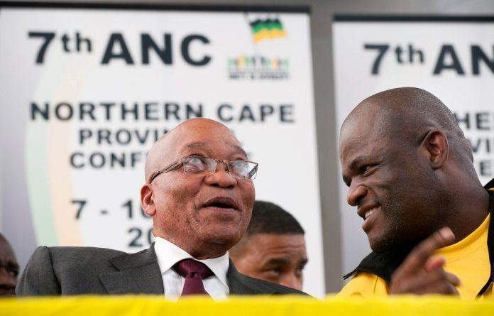 Backers: ANC Northern Cape secretary Zamani Saul