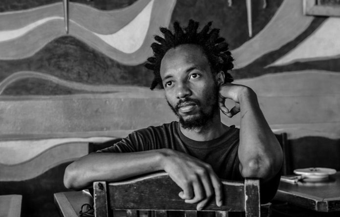 Anguish: Talented novelist Kabelo Sello Duiker took his own life on January 19 2005
