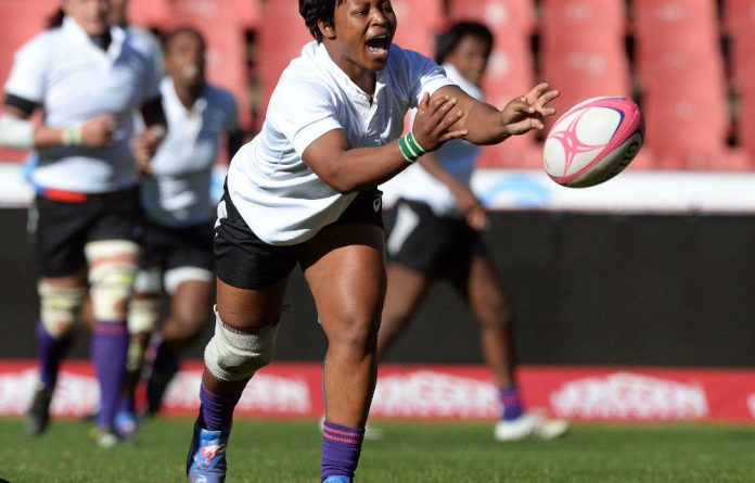 Scrumhalf Fundiswa Plaatjie will be playing in her third World Cup.