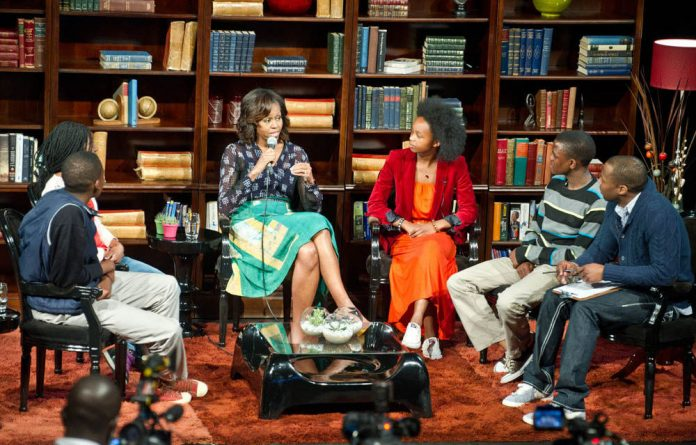 The 'MTV Base Meets Michelle Obama' recording.