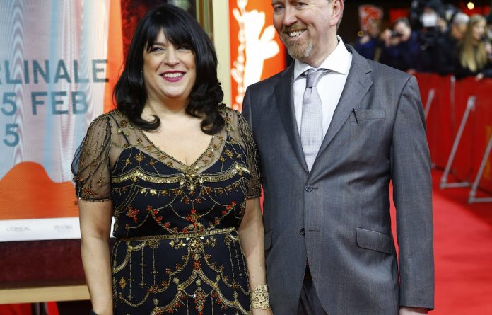 Author EL James and husband Niall Leonard at the screening of 'Fifty Shades of Grey' at the 65th Berlinale International Film Festival in Berlin in February.