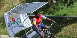 Developers of Kenya's solar-powered e-cycle hope to begin mass production by early 2019.