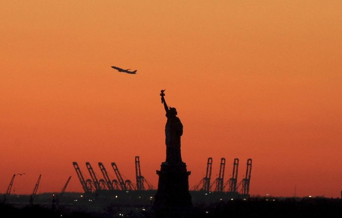Flybye: Donald Trump's presidency has put off many would-be travellers to the United States. Photo: Brendan McDermid/Reuters