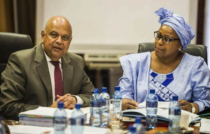 Fight or flight: Pravin Gordhan is studying the CIPC's finding that Dudu Myeni fibbed about an aircraft deal. Photo: Dion Raath/Gallo Images/Rapport