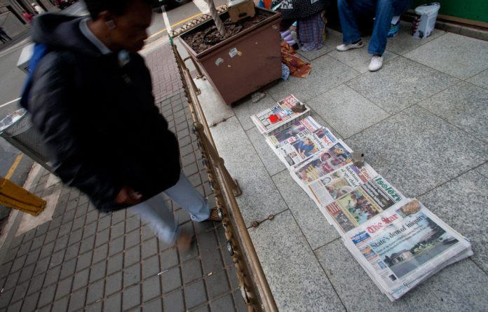 The lack of print media expansion into Africa by INM's South African competitors highlights the risks perceived by media companies such as Caxton
