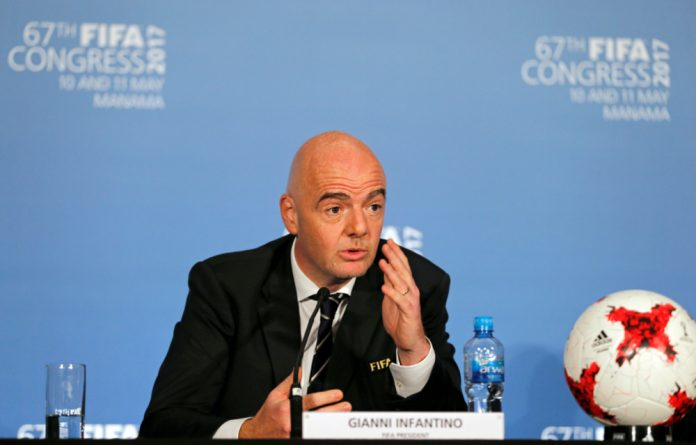 The 48-year-old has been in charge of FIFA since February 2016.