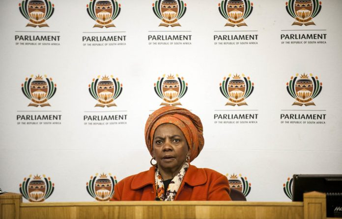 Human Settlements Minister Nomaindia Mfeketo has been at loggerheads with the board over her insistence that the board should suspend chief ombud advocate Seeng Letele and chief financial officer Themba Mabuya.