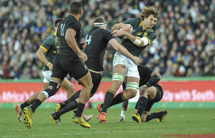Lock Lood de Jager has surprised many with his strong performances for the Springboks
