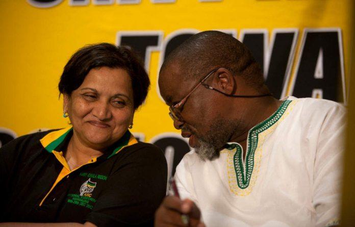 ANC deputy secretary general Jesse Duarte