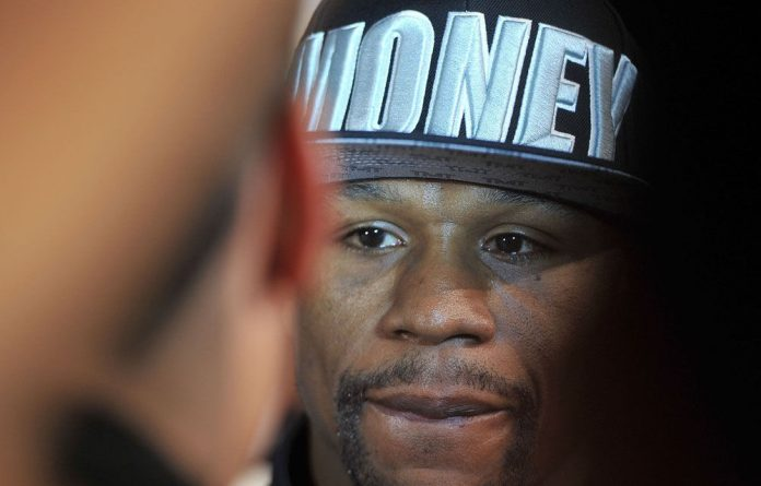 Floyd Mayweather went to jail last June for domestic violence.