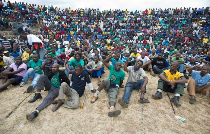 Five members of the Association of Mineworkers and Construction Union have been murdered at the Lonmin and Impala platinum mines.