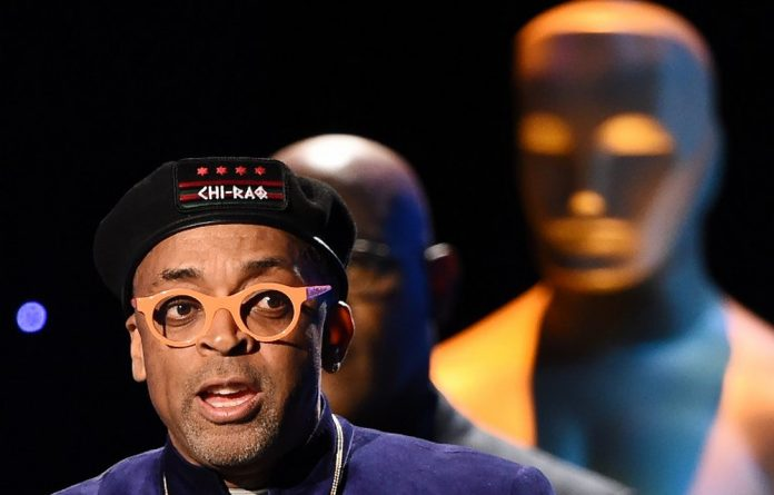 US film director Spike Lee.