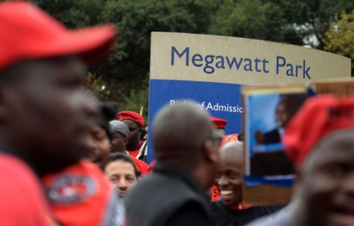 Eskom has put forward two three-year wage options to the unions