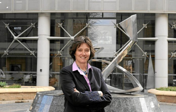 Blue chip: JSE chief executive Nicky Newton-King.