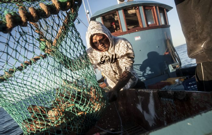 Continued pressure on fish stocks caused by poor law enforcement