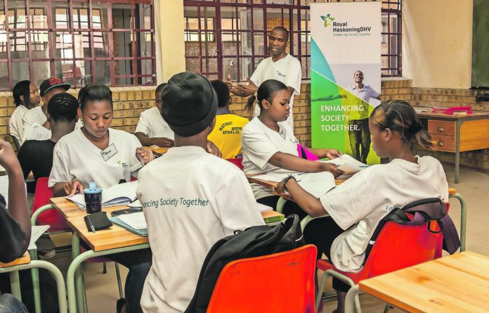 Engaged: Royal HaskoningDHV's programmes are tackling all levels of education