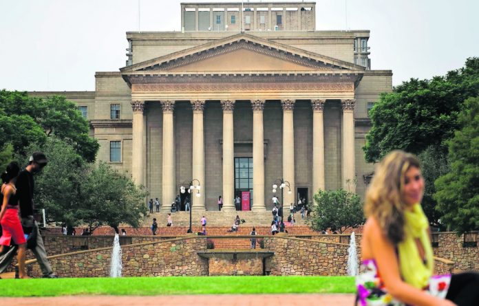 University of the Witwatersrand.