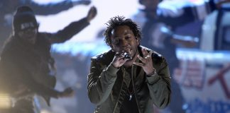 "Hip hop star Kendrick Lamar is nominated for best album for ""To Pimp A Butterfly"" and best rap performance."