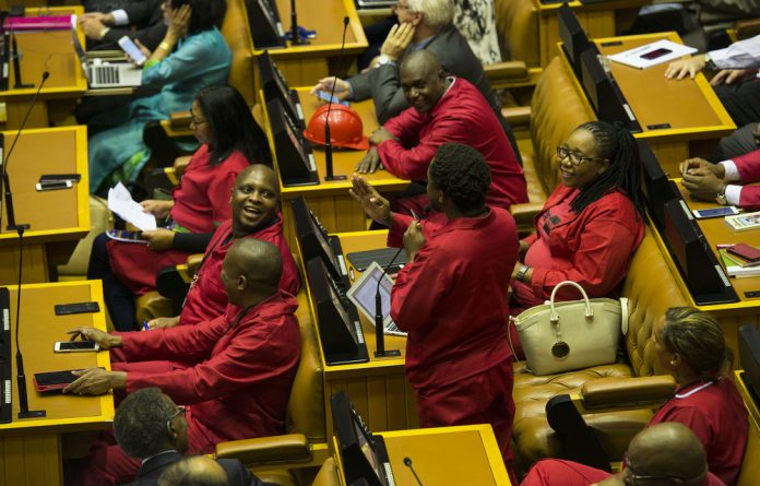 The EFF's draft resolution has asked the House to acknowledge that 1994 land reform measures have failed and to recognise that section 25 of the Constitution is