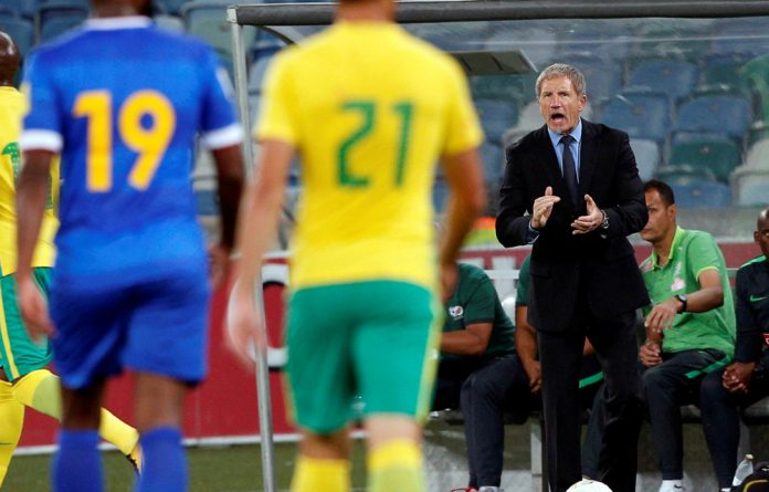 Coach Stuart Baxter has been harshly criticised ever since South Africa scuppered their last chance to compete in the World Cup with a loss against Cape Verde last year.