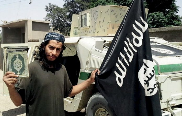 An image of a man described as Abdelhamid Abaaoud